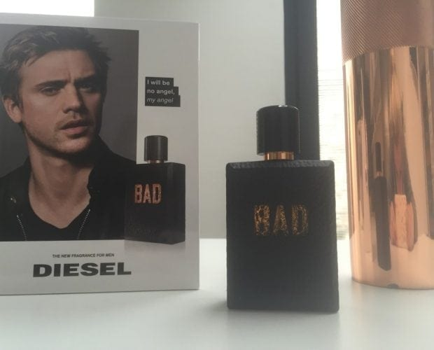 Diesel BAD aftershave competition