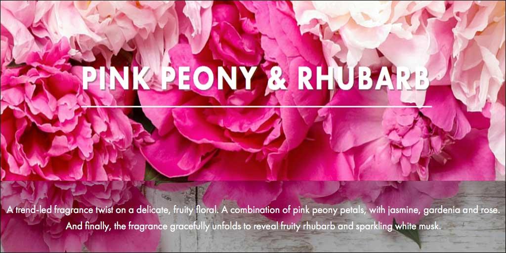 Pink Peony & Rhubarb