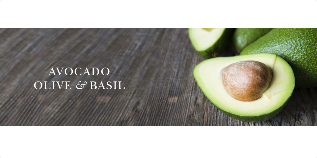 crabtree & evelyn avocado olive & basil