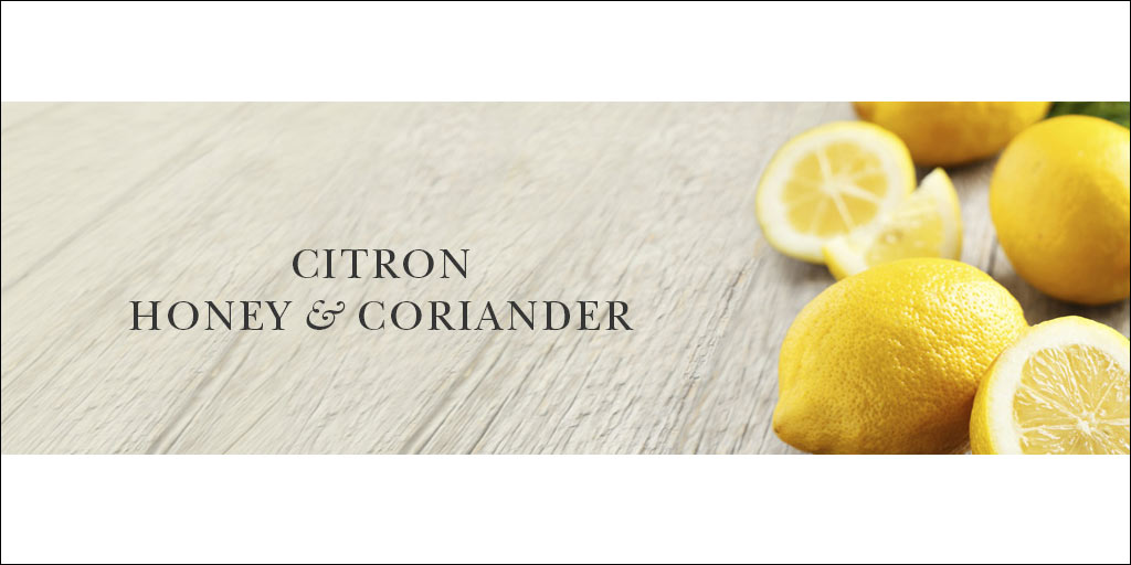 crabtree & evelyn citron honey & coriander