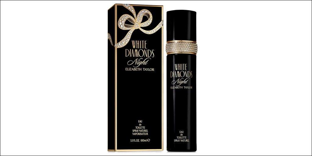 elizabeth taylor white diamonds night perfume