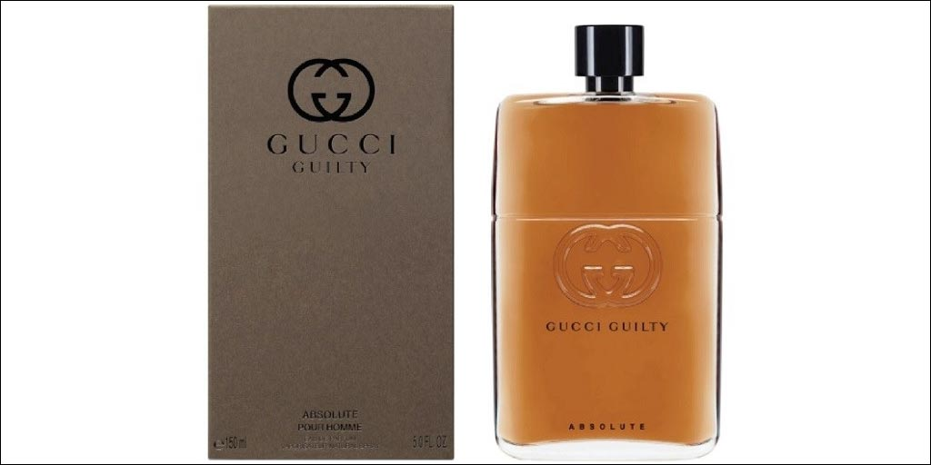 gucci guilty pour homme absolute eau de parfum. Black Bedroom Furniture Sets. Home Design Ideas