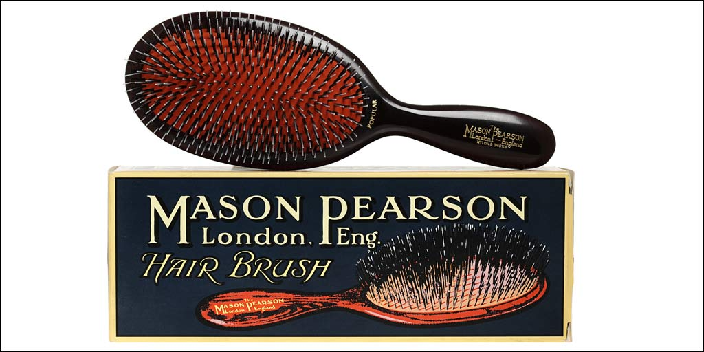 Mason Pearson Hairbrush and box