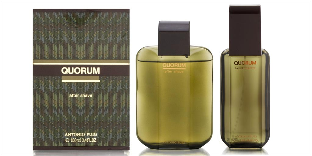 Quorum Aftershave & Eau de Toilette