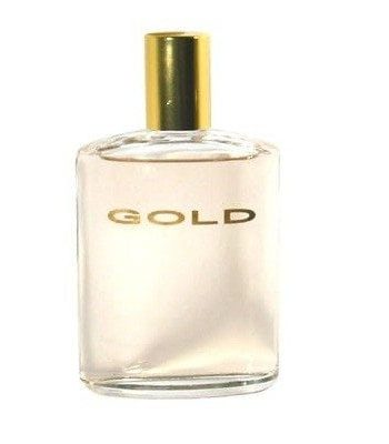 Gold bottle