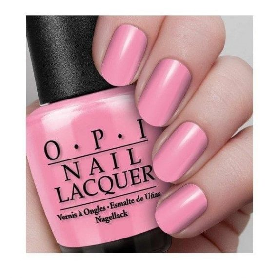 OPI Aphrodites Pink Nightie nails