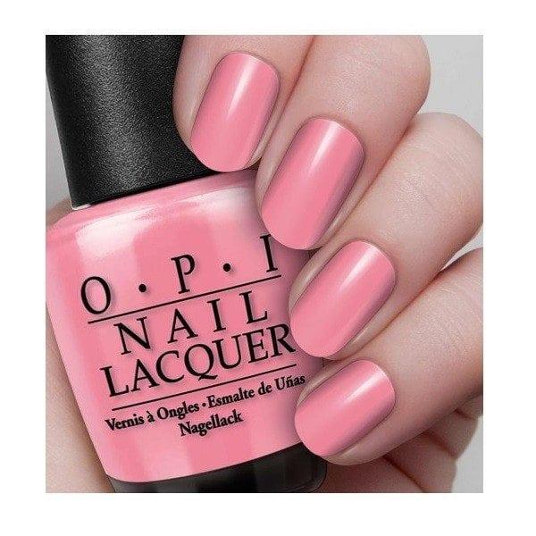 OPI Not So Bora-Bora-ing Pink nails