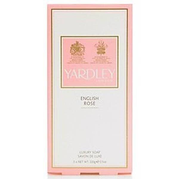 English Rose Soap 3 x 100g