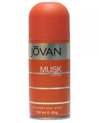 Jovan Musk for Men Deodorising Body Spray 150ml