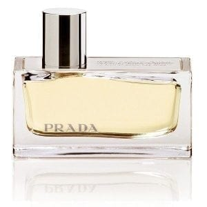 Prada Amber Eau de Parfum Spray bottle
