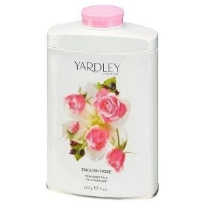 English Rose Perfumed Talc 200g