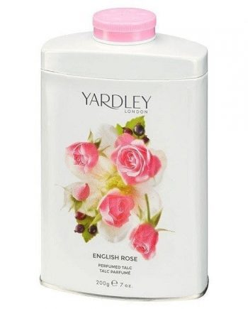 English Rose Perfumed Talc 200g