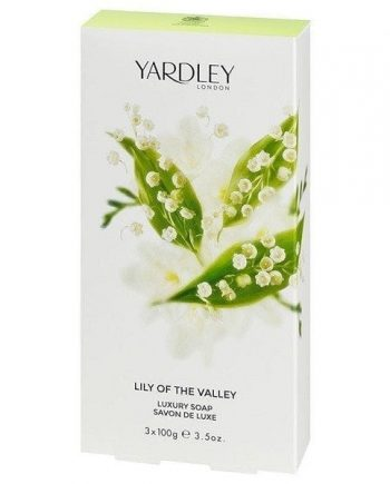 Lily of the Valley Soap 3 x 100g