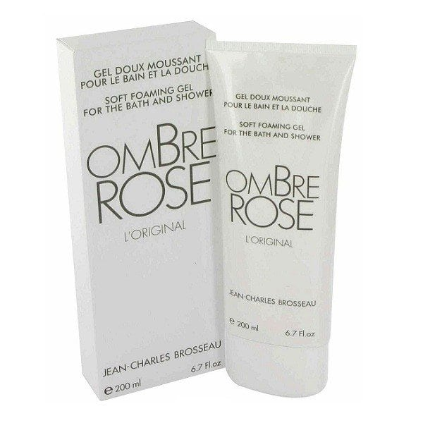 Ombre Rose Foaming Bath & Shower Gel 200ml
