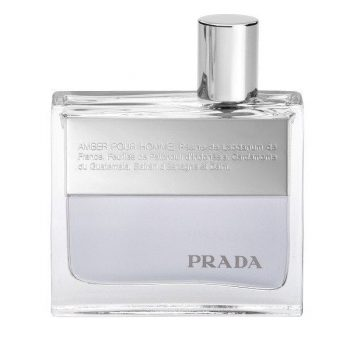 Prada Amber Pour Homme Eau de Toilette Spray bottle
