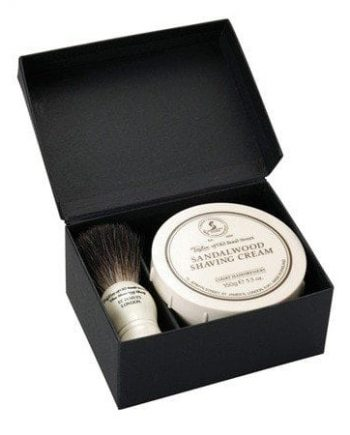 Taylors sandalwood shaving gift set