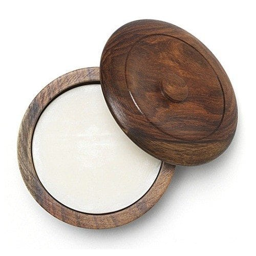 Taylors sandalwood shaving soap in bowl 2