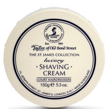 Taylors st james shaving cream