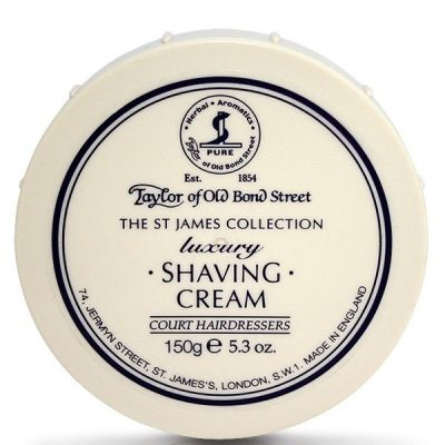Taylors st james shaving cream
