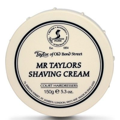 Mr Taylors shaving cream