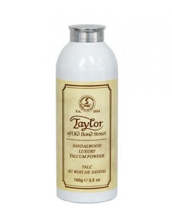 Taylors sandalwood luxury talcum powder