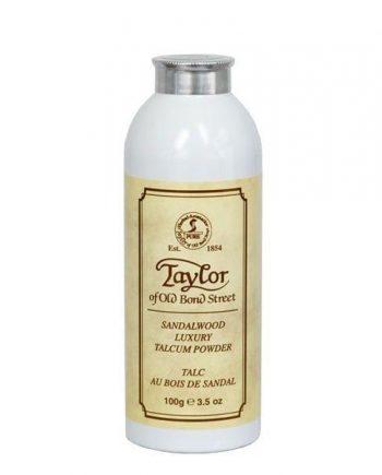 Taylors sandalwood luxury talcum powder