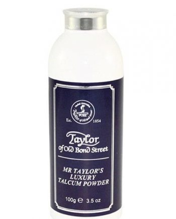 Mr Taylors luxury talcum powder