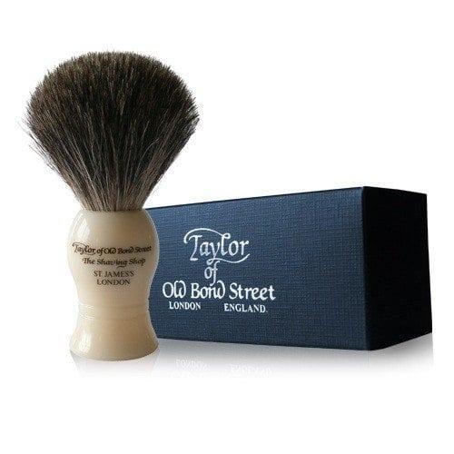 Taylors ivory shaving brush medium