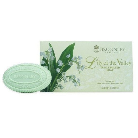 Bronnley Lily Soap x 3