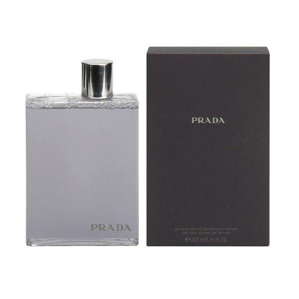 prada amber pour homme bath shower gel 200ml scentstore. Black Bedroom Furniture Sets. Home Design Ideas
