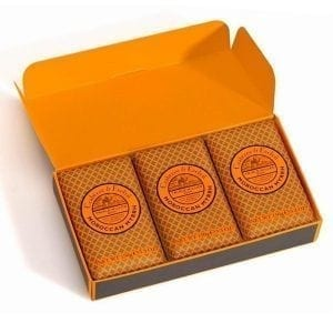 moroccan myrrh triple soaps