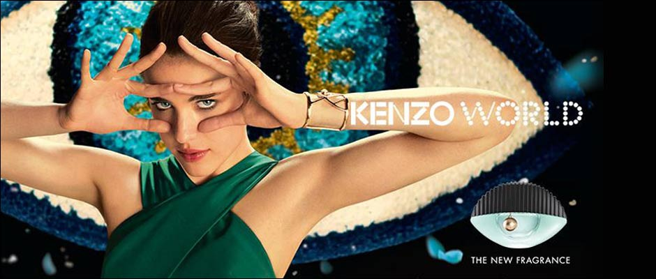 Kenzo World Perfume New Release