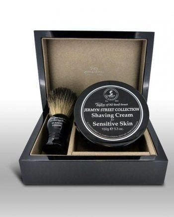 Taylors Luxury Wooden Shaving Gift Set Jermyn Street (Sensitive Skin)