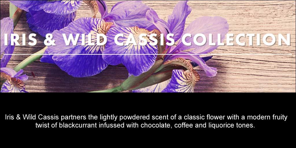 Bronnley Iris & Wild Cassis Range