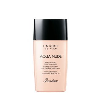 Guerlain Lingerie De Peau Aqua Nude 03W Naturel Dore Foundation 30ml