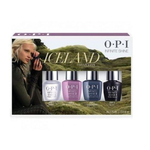 OPI Iceland Mini Infinite Shine Set