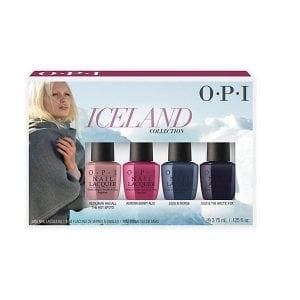 OPI Iceland Mini Lacquer Set