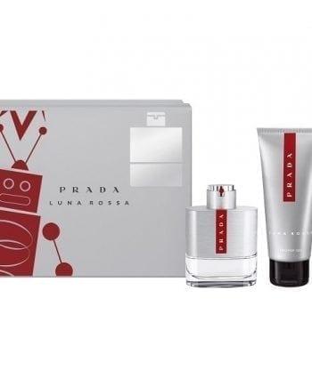 Prada Luna Rossa Gift Set 50 EDT+100ml Shower Gel