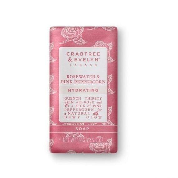 Rosewater & Pink Peppercorn Soap 158g