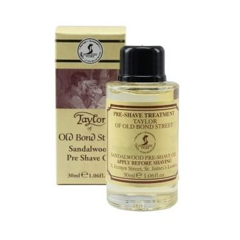 Taylor of Old Bond Street Sandalwood Pre-Shave Oil 30ml
