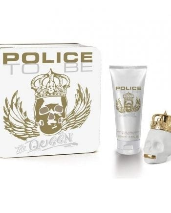 Police To Be Queen Large Gift Set