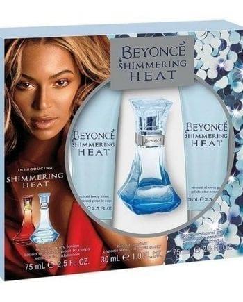 beyonce shimmering heat gift set
