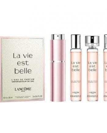 Lancome la vie est belle purse spray full gift set