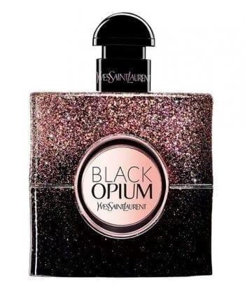 YSL Black Opium Christmas Glitter Edition