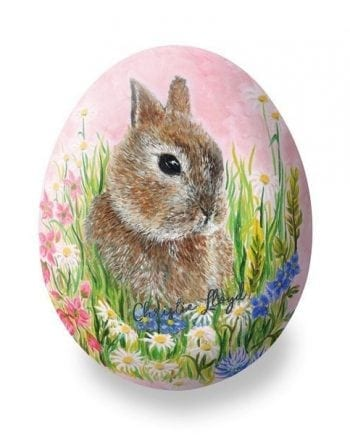 Bronnley Easter Bunny Egg