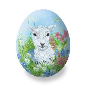Bronnley Easter Lamb Egg