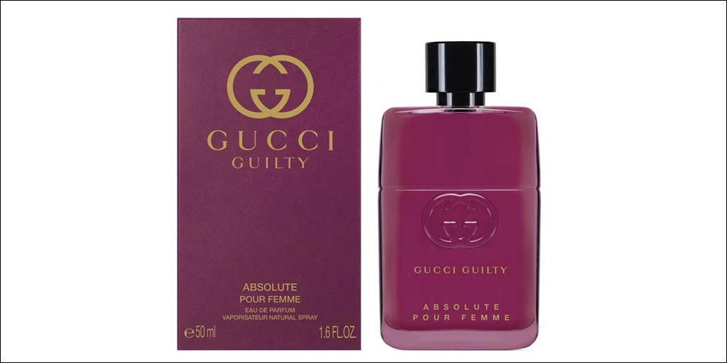 gucci guilty absolute pour femme eau de parfum. Black Bedroom Furniture Sets. Home Design Ideas