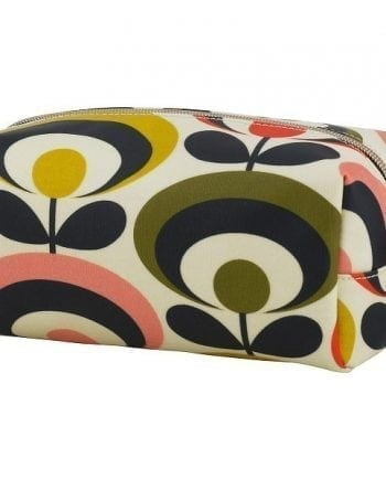 orla kiela seventies flower large cosmetic bag