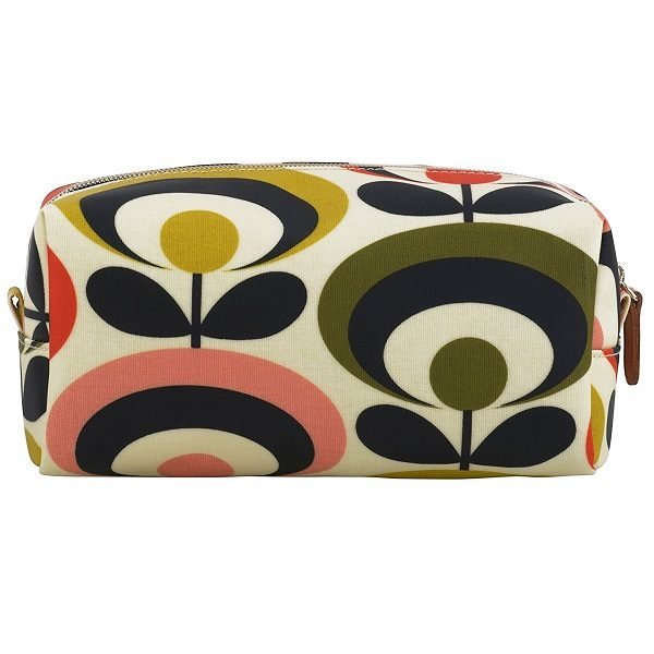 orla kiela seventies flower large cosmetic bag pic2