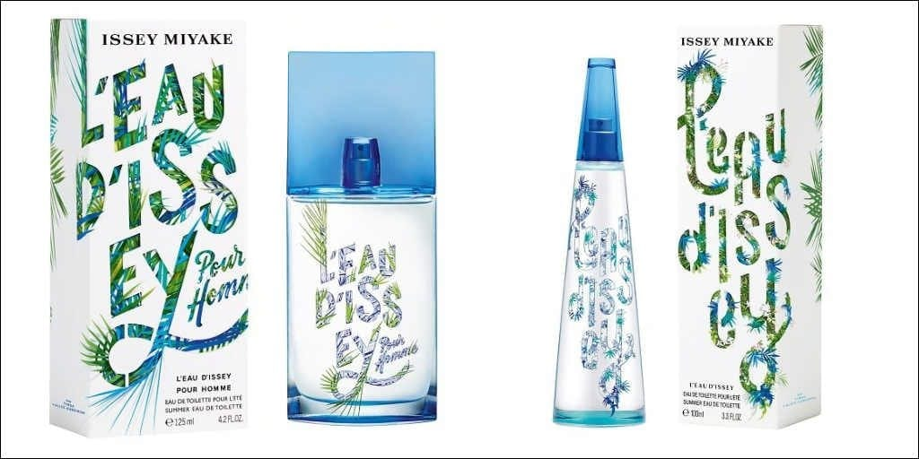 Issey Miyake Summer Limited Editions